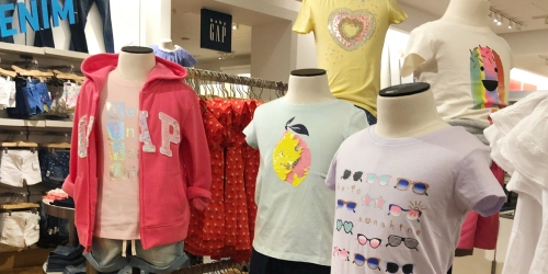 Up to 70% Off GAP Kids Apparel