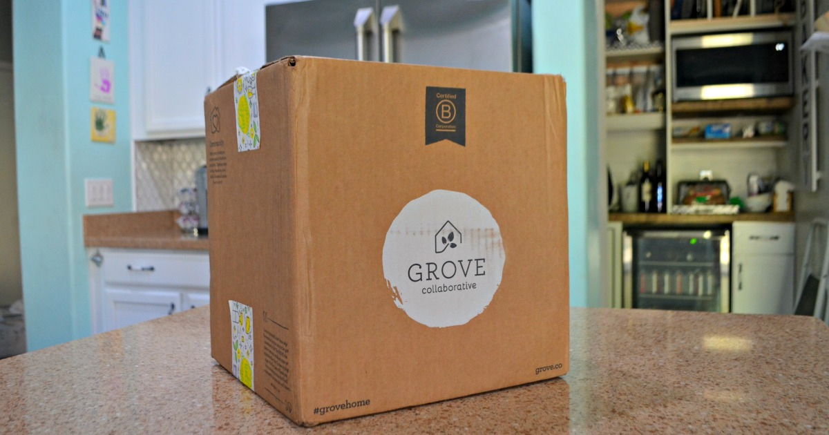 Fall Cleaning Deal: Mrs. Meyer's fall seasonal scents are available at The Grove! Pictured: Grove collaborative box