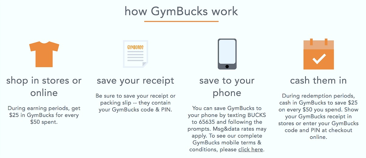 save money shopping with these gymboree tips – gymboree gymbucks how they work section on website