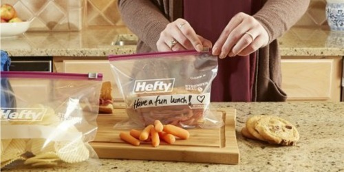 Amazon: Hefty Slider Storage Bags 184-Count Only $11.19 Shipped + More