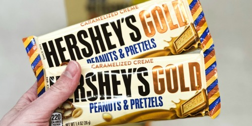 Hershey's Gold Bar Only 14¢ at Walgreens (Just Use Your Phone)