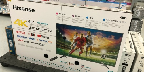 Hisense 65″ 4K LED Android TV Only $379.99 Shipped at Best Buy (Regularly $500)