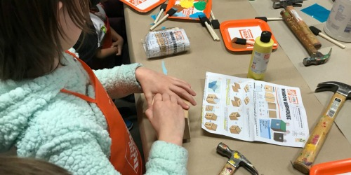 Register Now for Free Home Depot Kids Workshop on September 7th | Build a Scarecrow Planter