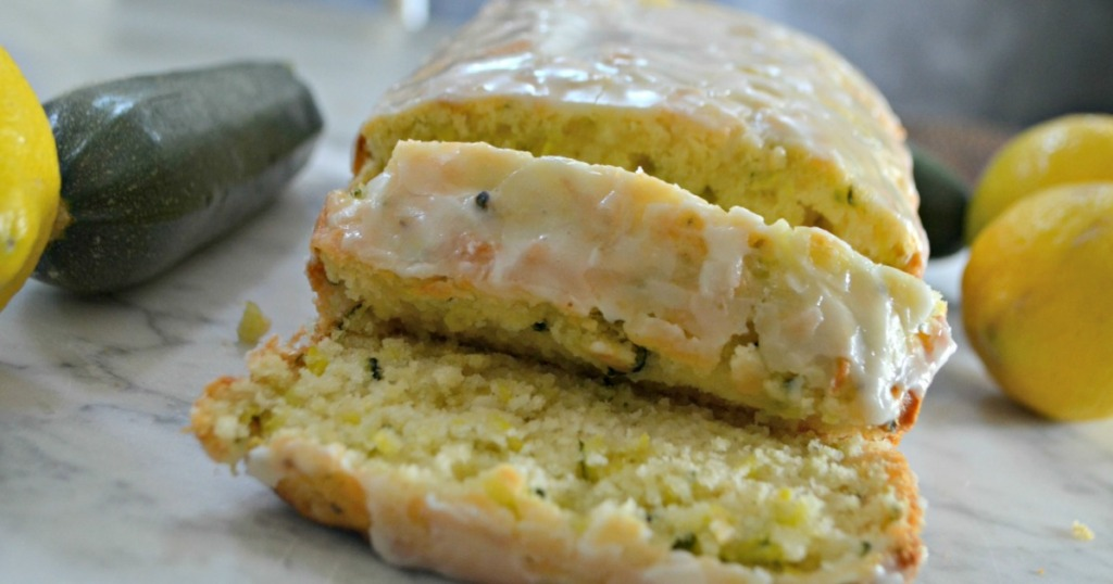 This Lemon Zucchini Loaf is Light, Luscious, and Lovely