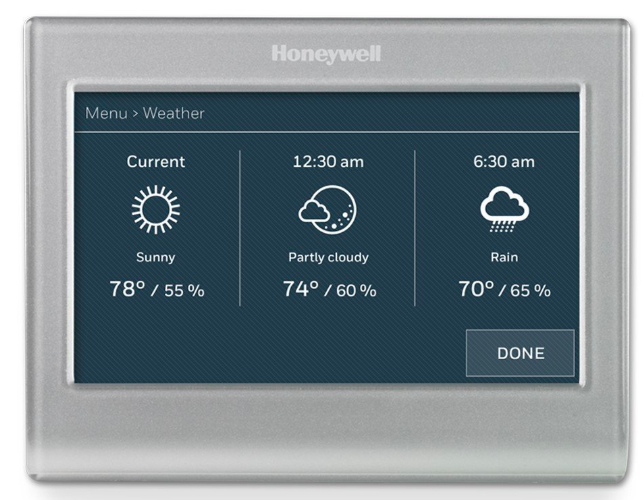 Honeywell Wi-Fi Smart Color Thermostat Only $126 75 Shipped