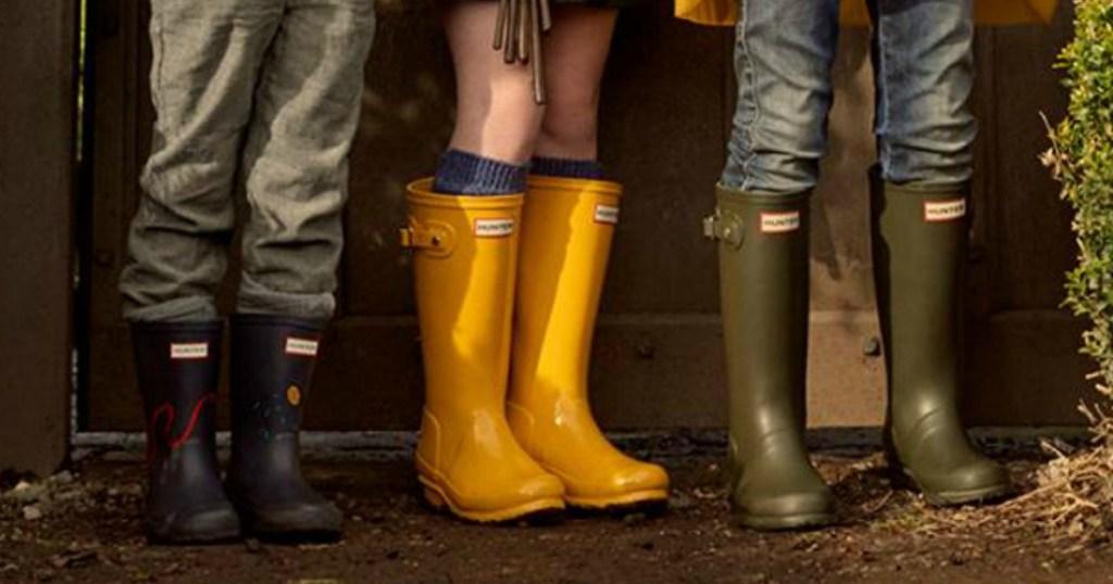 Hunter Women s Original Tall Rain Boots Only  60 Shipped (Regularly  150) +  More 61b8b1b7b7