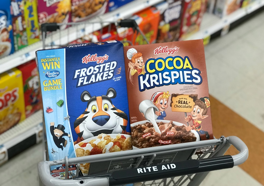 Rite Aid Kellogg's Cereal