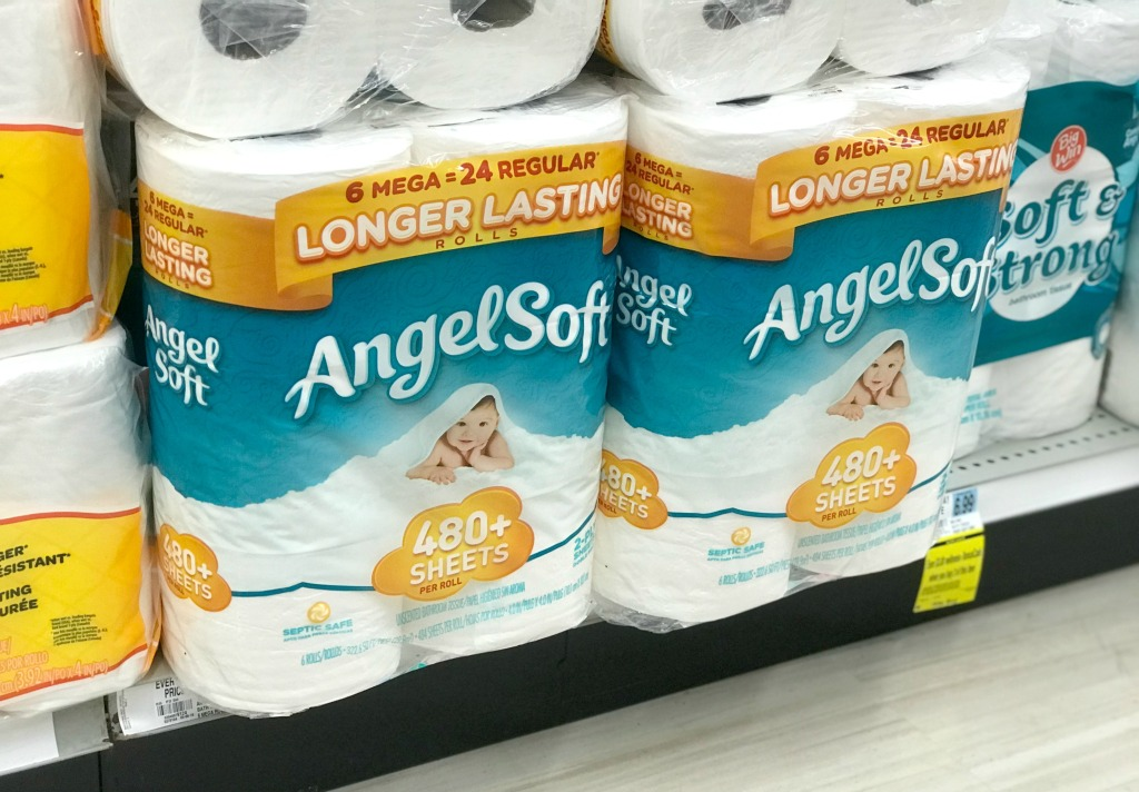 Rite Aid Angel Soft Mega Toilet Paper