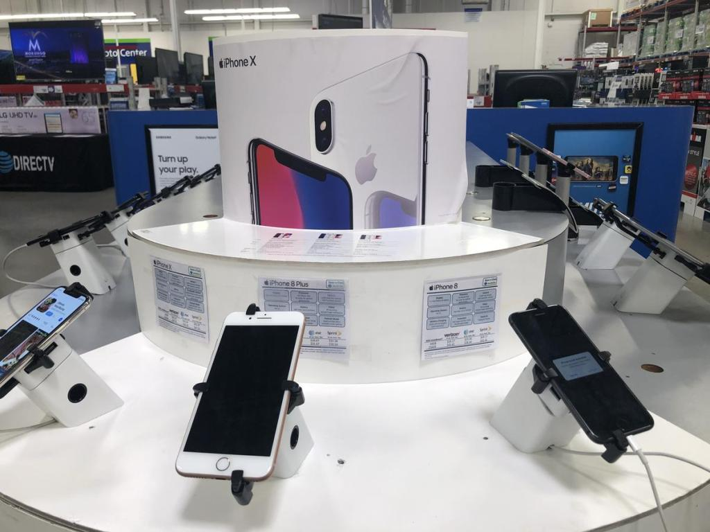 iPhone at Sam's Club