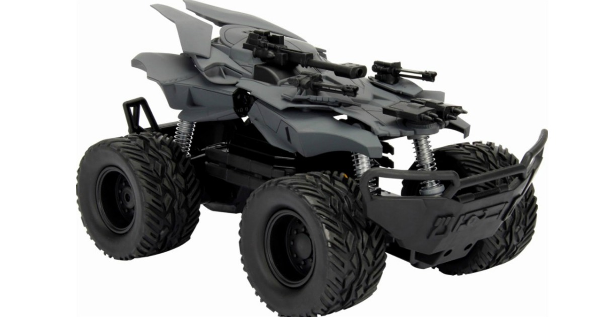 Best Buy: Justice League Batmobile Offroad Only $11.99 (Regularly $40)