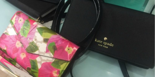 Up to 75% Off Kate Spade Handbags, Wallets, Accessories & More + Free Shipping