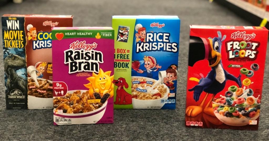 kelloggs cereals cvs store