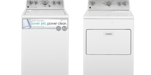 FREE Kenmore 4.3 cu. ft. Top Load Washer ($840 Value) w/ Matching Dryer Purchase at Sears