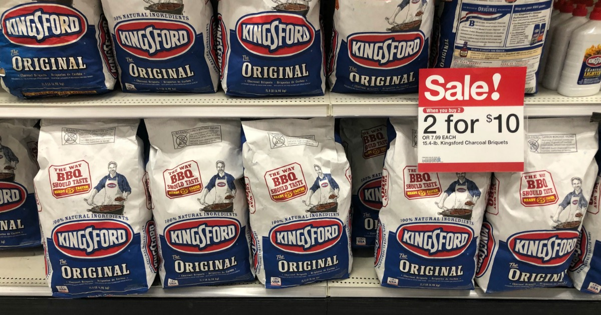 Two Kingsford Charcoal Briquettes 15 4 Pound Bags Just 10 At Target