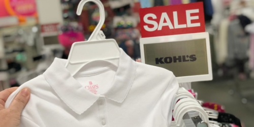 $174 Worth of School Uniforms Only $52 Shipped + Get Kohl's Cash