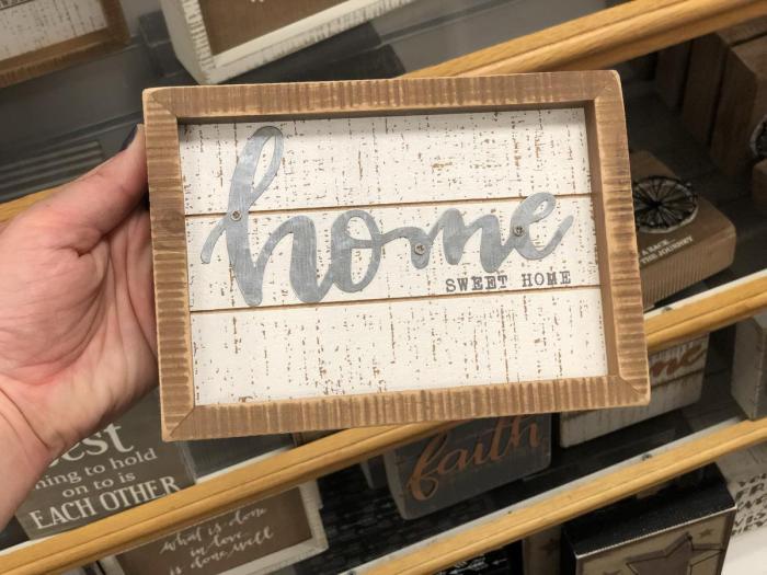 Kohl's farmhouse sign