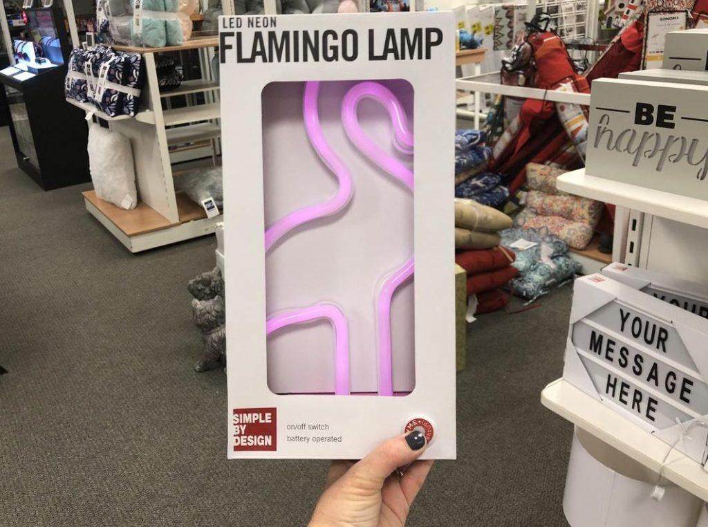 Kohl's Flamingo Lamp