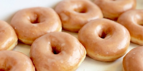 Krispy Kreme DOUBLE Dozen Doughnuts Just $12 (Rewards Members Only) – May 11-12