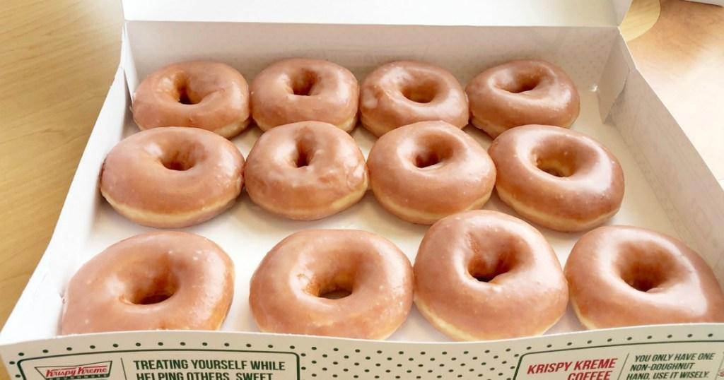 krispy kreme glazed donuts