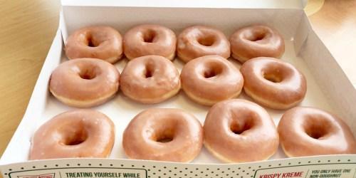 2 Dozen Krispy Kreme Doughnuts ONLY $13 | Valid on 11/23 Only
