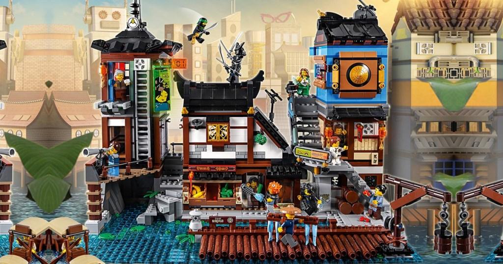 Lego Ninjago City Docks Set Only 16099 Shipped Regularly 230