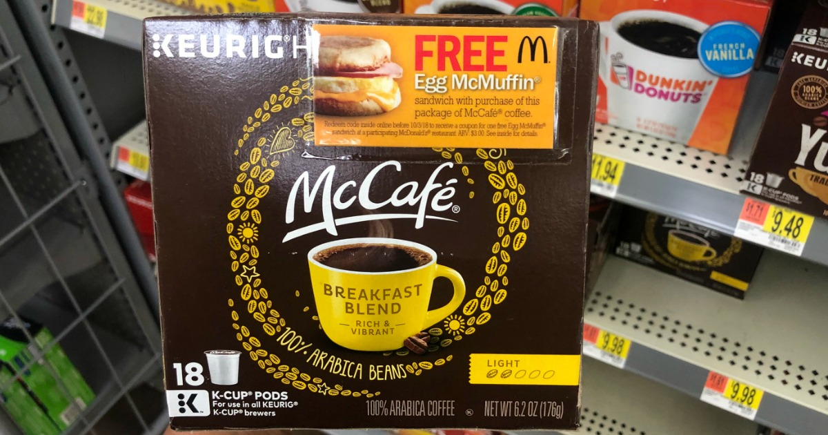 Walmart: Possible FREE McDonald's Egg McMuffin w/ Purchase
