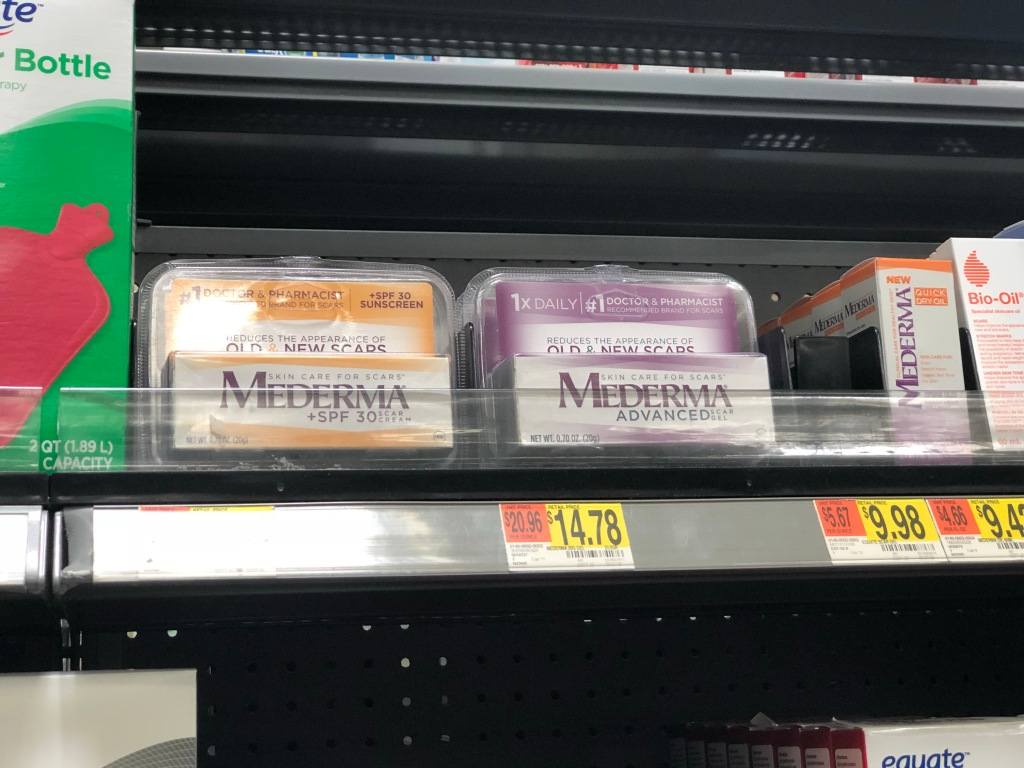 Up To 65 Off Mederma Products At Walmart Hip2save