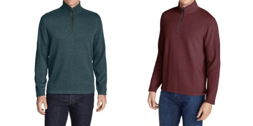 Eddie Bauer Men's Pullover Just $20 (Regularly $60) + More Clearance Deals