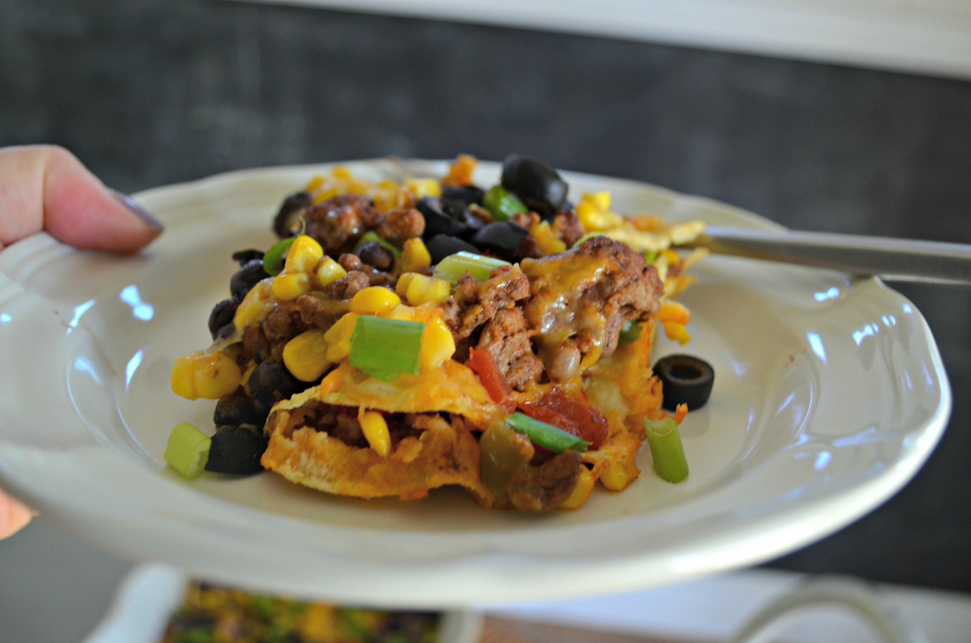 FREE Fall Printable Meal Plan and recipes - Here, easy Mexican lasagna