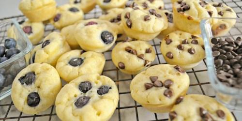 Gluten-Free Pancake Bites (Easy Grab and Go Breakfast Idea)