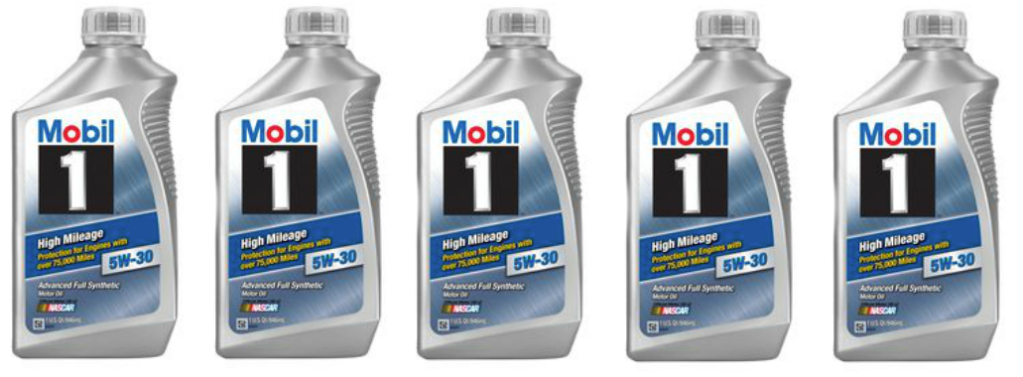 Mobil 1 Rebate >> Five Quarts Mobil 1 Motor Oil, Oil Filter & NBA Sports Bag ONLY $29.99 Shipped ($75+ Value ...