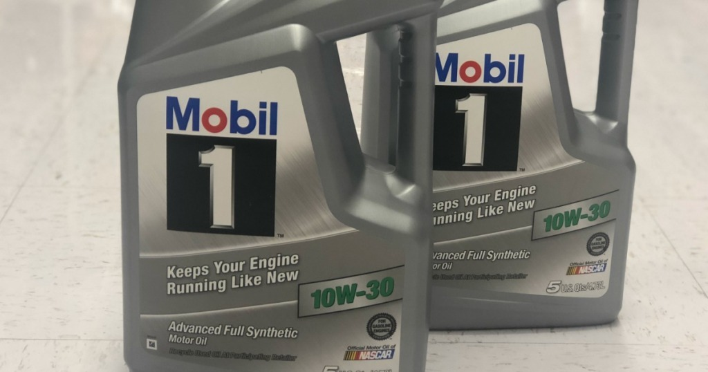 Mobil1 Us Onlineform >> Five Quarts Mobil 1 Motor Oil Oil Filter Nba Sports Bag Only