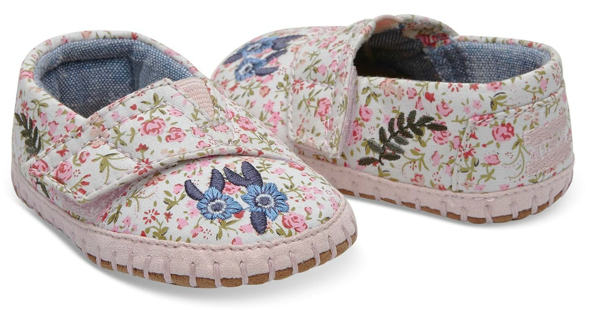 Tiny TOMS Crib Shoes Just $19.99