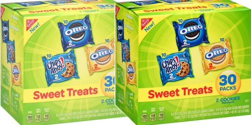 Amazon: Nabisco Cookie 30-Count Variety Pack Only $6.63 Shipped (Just 22¢ Per Pack)