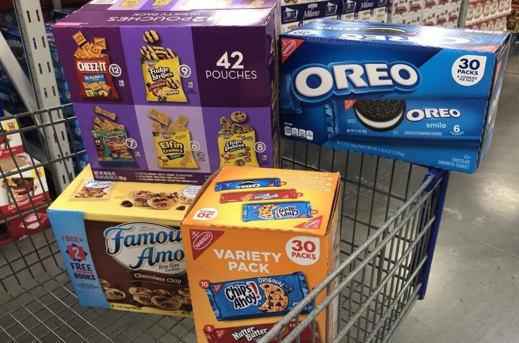 Nabisco snacks at Sam's Club