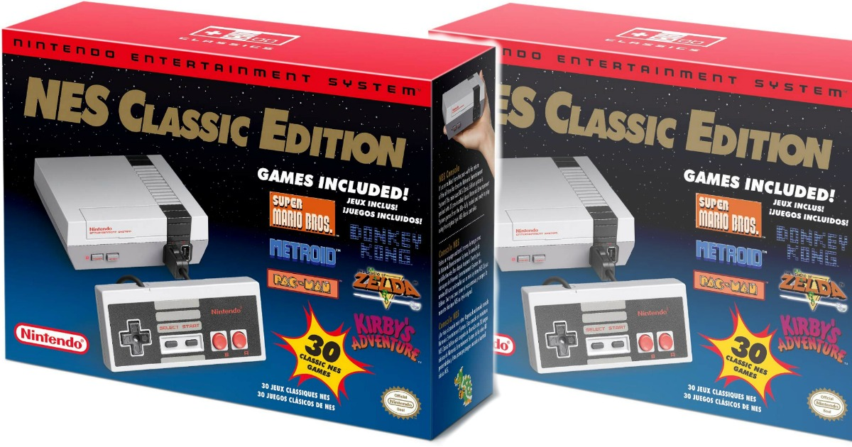 Amazon Nes Classic Nintendo Only 59 99 Shipped Hip2save