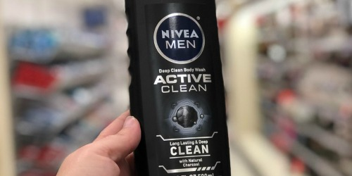 Nivea Men Active Clean Body Wash 3-Pack Only $7.44 Shipped at Amazon – Just $2.48 Each