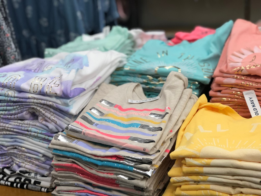 girls old navy graphic tees