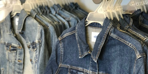 Old Navy Women's & Girls Denim Jackets as Low as $12 (Regularly up to $40)