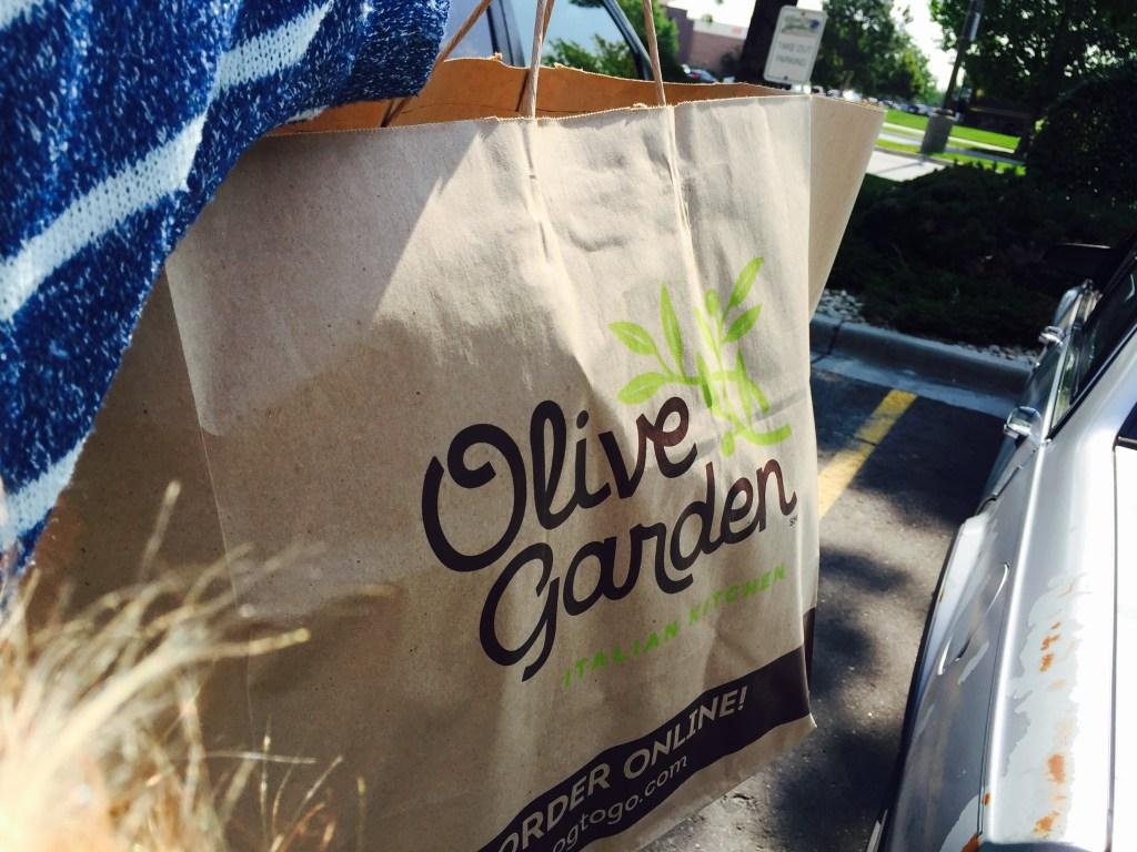 Olive Garden Has A Crazy New Breadstick Creation: $5 Off $10+ DoorDash Food Pick-Up Order