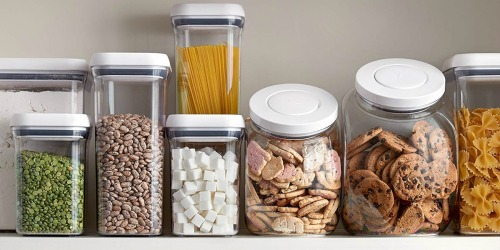 Up to 60% Off OXO Food Storage Containers on Macys.com + Free Shipping