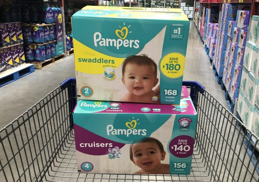 Pampers at Sam's Club