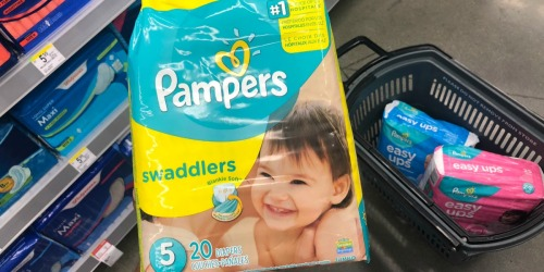 Pampers Diapers & Easy Ups Jumbo Packs Only $3.72 Each Shipped After Walgreens Rewards