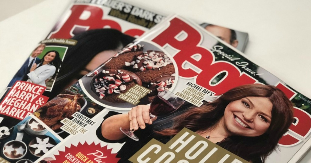 People Magazine One-Year Subscription Only $31.99 (Just 59¢ Per ...