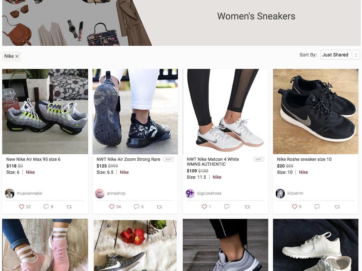 Women Nike Kicks Shoes on Poshmark