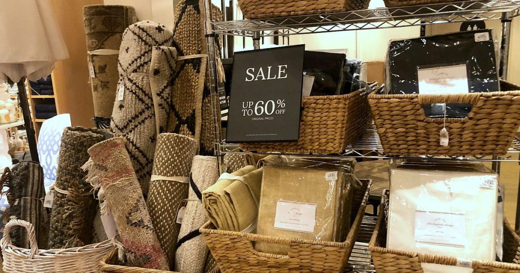 60 off sale and clearance selection at pottery barn