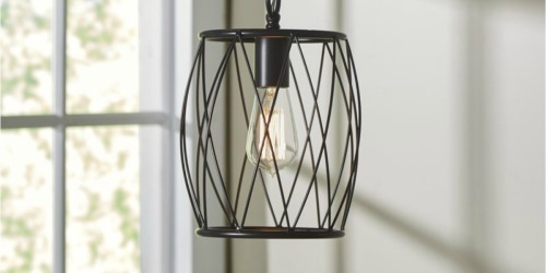 Up to 80% off Industrial/Farmhouse Style Lighting
