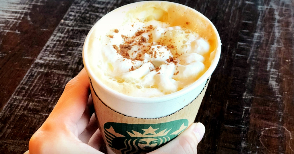 Pumpkin Spice Latte at Starbucks