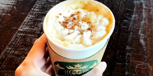 Possible Free Starbucks Handcrafted Beverage w/ Food or Drink Purchase (Check Your Inbox)