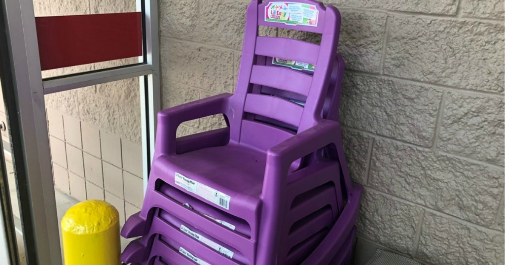 Kids Stackable Rocking Chair As Low 5 98 At Lowe S Regularly 23